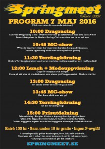 Affisch-Program-Springmeet